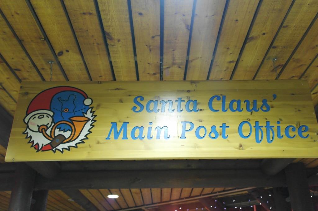 Santa Claus' post Office in Lapland