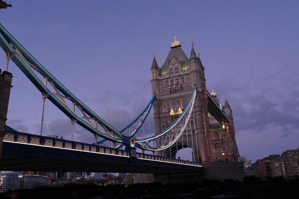 Tower Bridge - A closer view