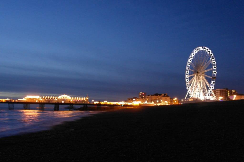 Brighton Beach At Night Walk | Photos of Brighton