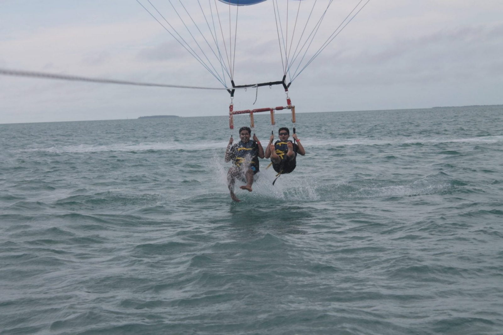 Key West water adventure: a blue ocean paradise