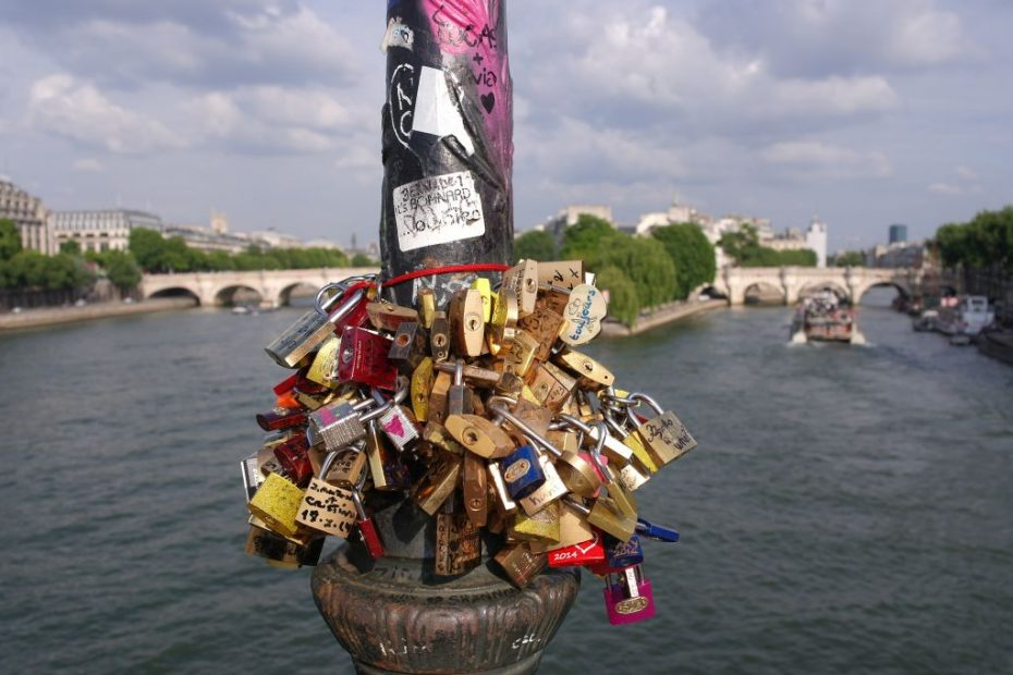 Love locks, Pont des Arts