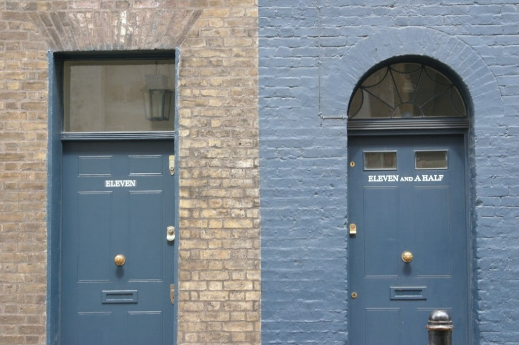 Eleven and a half, Fournier Street, London