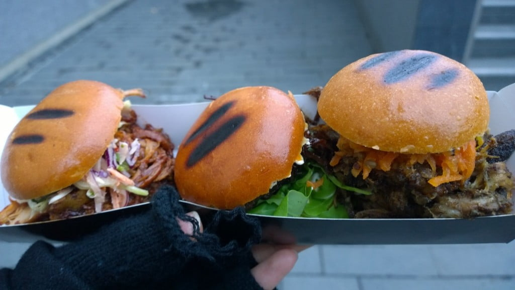 ATE Street Food Review | Best Mini Burgers In London