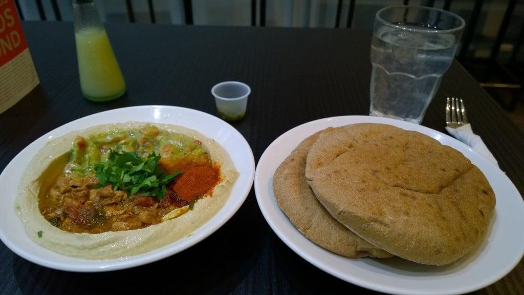 Hummus Bros Review | Healthy Eating in London