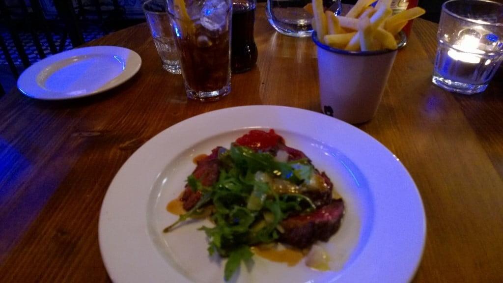 Chop Shop Steakhouse Review, London