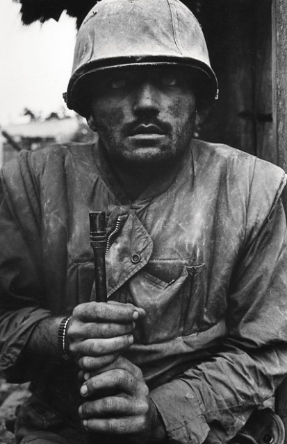 Don McCullin shell shocked soldier