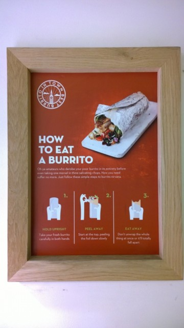 How to eat a burrito neatly - Poncho 8