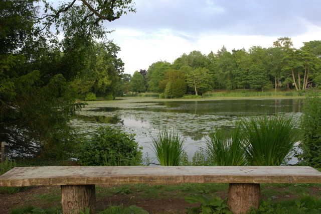 Bench at Stowe Gardens