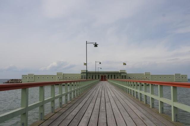 Ribersborgs Kallbadhus, Malmo beach