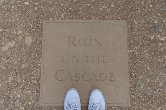 Ruin on the Cascade Stowe Gardens
