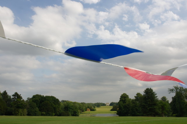 Stowe Gardens and bunting