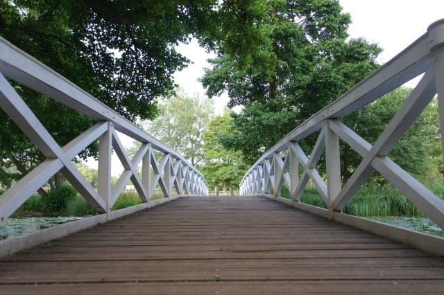 White bridge Stowe Gardens