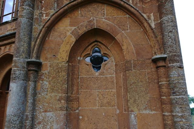 Window Gothic Temple Stowe Gardens