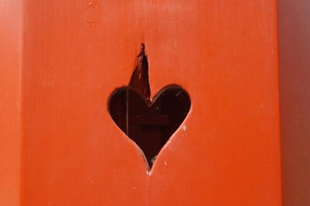 Wooden heart, Kastellet, Copenhagen