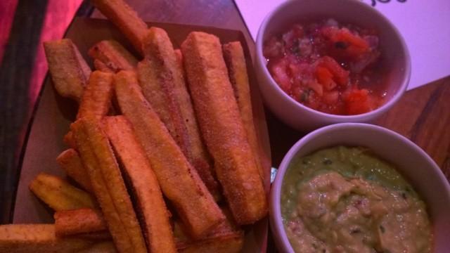 Cassava fries, Cantina, The Forge, Cantina