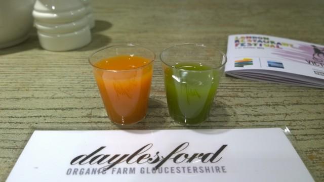 Daylesford cafe fresh press juices
