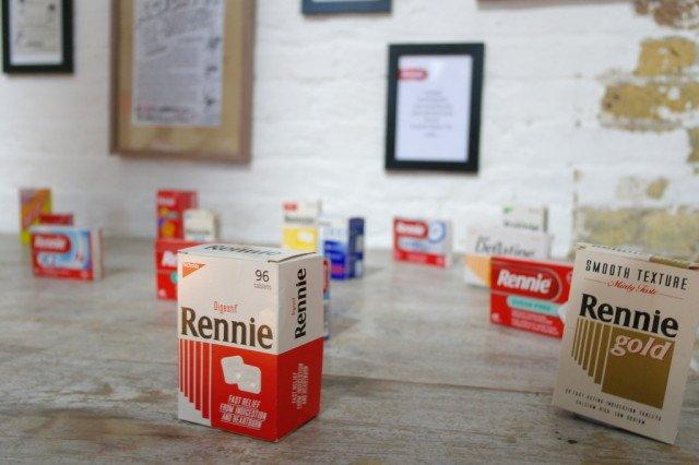 Rennie packaging years