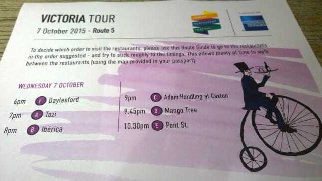 Victoria Restaurant Hopping Tour