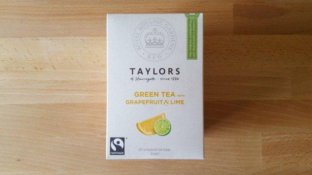 Kew Royal Botanic Gardens green tea