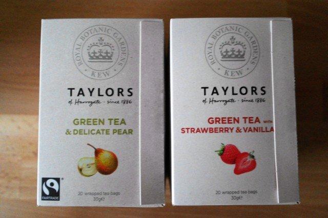 Taylor's of Harrogate green tea