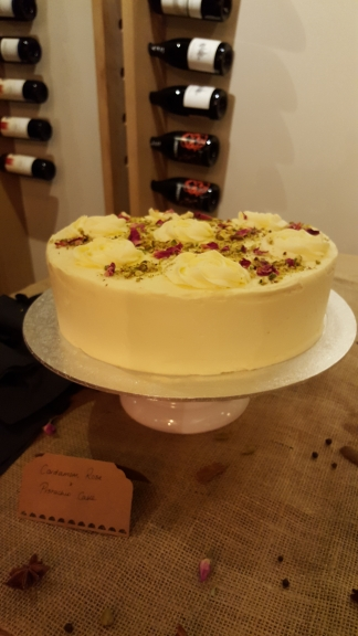 Chins Kitchen review cake