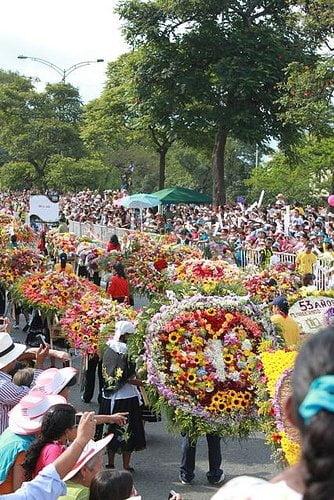 Feria De Las Flores festival of flowers