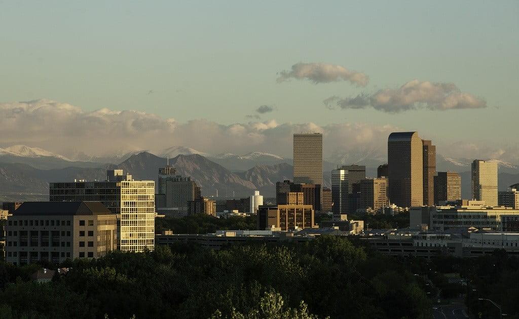 Denver Colorado cityscape photo