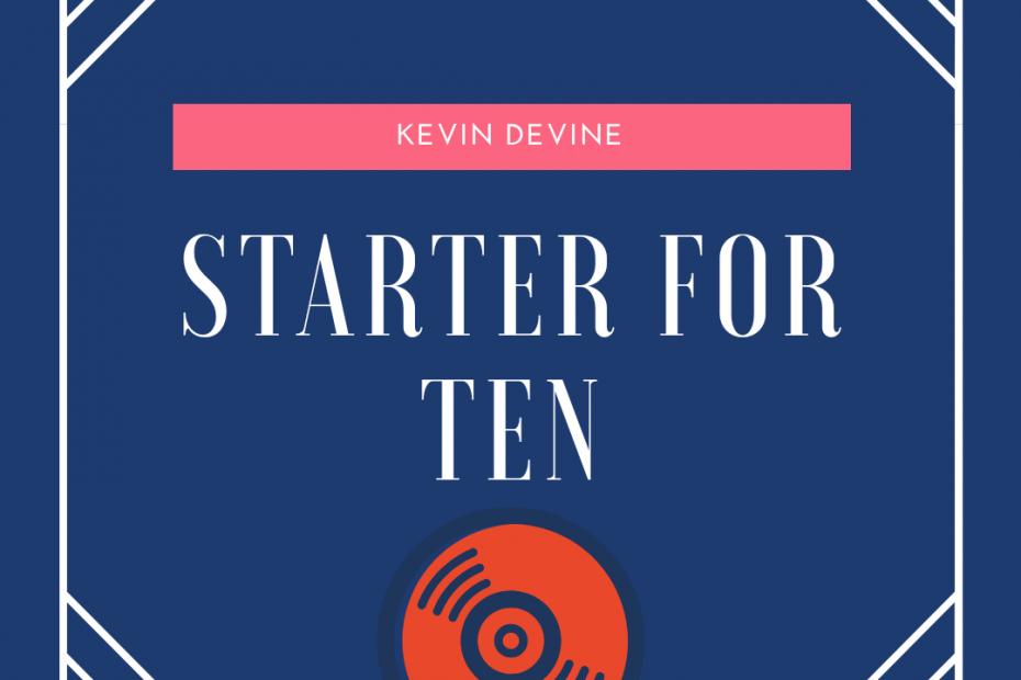 Kevin Devine - Starter for Ten 1
