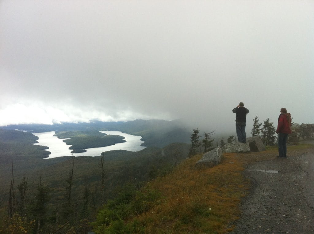 hiking lake placid photo